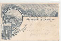 Niederrickenbach - Vorläufer-Litho - 1901   (P-104-61004) - NW Nidwald