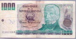ARGENTINA - BILLETE DE 1000 PESOS ARGENTINOS  (#530) - Argentina