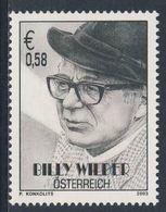Austria Österreich 2003 Mi 2404 **  Billy Wilder (1906-2002) Austrian-American Filmmaker, Screenwriter / Filmautor - Acteurs