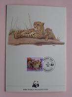 OUAGADOUGOU - WWF World Wildlife Fund ( FDC ) 1984 ( See Photo's ) ! - Burkina Faso (1984-...)