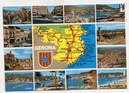 MAP - AK 314061 SPAIN - Gerona - Maps