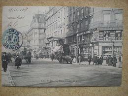 1 CPA  75 PARIS La Rue De Rivoli - Francia