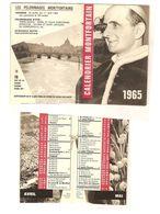 1965 - PETIT CALENDRIER RELIGIEUX - Calendriers