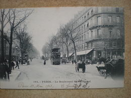 1 CPA  75 PARIS Le Boulevard Saint Michel - Francia