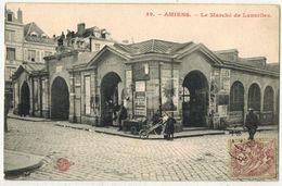 AMIENS SOMME : Le Marché De Lancelles - Ed  N° 49 - Voyagé Château De NANTES - BRIENDO - Amiens