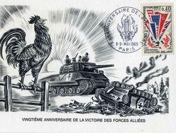 """MILITARIA    L 37 20 E ANNIVERSAIRE DE LA VICTOIRE     """"  CPM 10 X 15 - Weltkrieg 1939-45"""