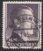 GERMANIA REICH -  1942 - Yvert 724a Obliterato, Dent 14. - Germania