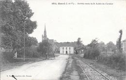 GOSNE - Arrivée Route De St-Aubin-du-Cormier. - Unclassified