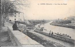 LUNEL - Les Rives Du Canal. - Lunel