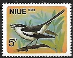 Niue - 1971 - MNH - Poynesian Triller ( Lalage Maculosa - Sperlingsvögel & Singvögel