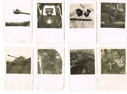 TANK 8 Fotos 9 Cm Op 6 Cm Binnenzicht Tank Kanon - Vehicles