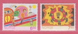 2005 ** (sans Charn., MNH, Postfrish)  Yv  1470/1Mi  1527/8NHK  1562/3 - Norvège