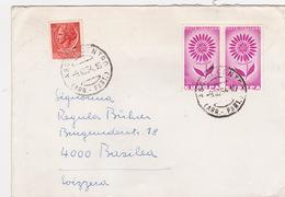 Brief In Die Schweiz (br2648) - 6. 1946-.. Republic