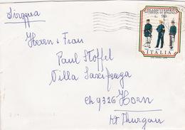 Brief In Die Schweiz (br2676) - 6. 1946-.. Republic