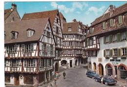 Colmar. L'entrée De La Rue Des Marchands. - Colmar