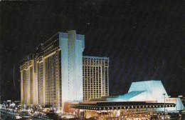 Nevada Las Vegas MGM Grand Hotel At Night