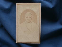 Photo CDV   Portrait Pape Pie IX - CA 1865 - L350 - Photographs