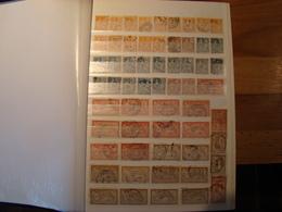 En Classeur De 32 Pages, Stock De Plus De 1700 Timbres De France à Partir De 1900 Environ, La Plupart En Bon état,à Voir - Collections