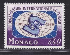 MONACO N°  806 ** MNH Neuf Sans Charnière, TB (D4815) Organisation Internationale Du Travail, BIT - Monaco