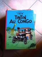 TINTIN  AU CONGO   HERGE - Tintin