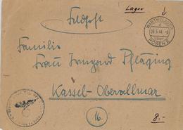 Feldpost Warthelager Posen 09.05.1944 Nach Kassel Mit Inhalt - Dienstpost