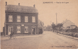 NAMUR SOMBREFFE Avenue De La Gare / Café - Sombreffe