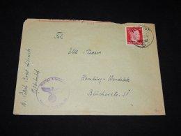 Germany Ukraine 1930 Feldpost Cover__(L-9143) - Occupation 1938-45