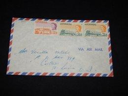 Antigua 1968 Air Mail Cover__(L-8561) - Antigua & Barbuda (...-1981)