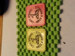 2 X Tokens Consumptiemunt .Cafe Sprakel Enschede ( Gekleurd )  - Netherlands - Netherland
