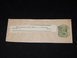 Austria 1914 Overprint Wrapper__(L-9607) - Entiers Postaux