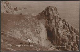 Cliffs At Land's End, Cornwall, C.1910s - Paul Bros RP Postcard - Land's End