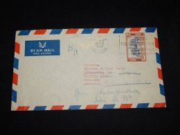 Ceylon 1952 Air Mail Cover To Germany__(L-8511) - Sri Lanka (Ceilán) (1948-...)