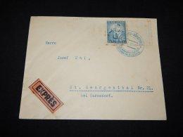 Czechoslovakia 1938 Libouchec Express Cover__(L-10407) - Tsjechoslowakije