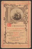 """Beato Rodolfo Acquaviva Di Atri / Gesuita """"Martire Di Salsette"""" (india) - (Francia - Fine Ottocento) - """"Riproduzione"""" - Santini"""