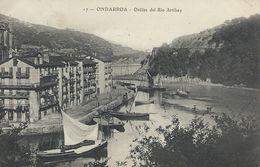 Espagne 17 Ondarroa Orillas Del Rio Artibay TBE 1913 - Vizcaya (Bilbao)