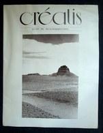 "Revue ""CREATIS"" #2 Art Photo Photographie Photography Photographer Foto Voyage Egypte Egypt Desert Bernard PLOSSU 1977 ! - Arte"