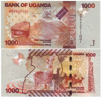 Uganda 1.000 Shillings 2010 Pick 49-a UNC - Uganda