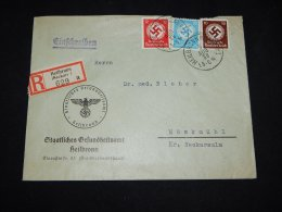 Germany 1938 Heillbron Registered Cover__(L-10134) - Deutschland