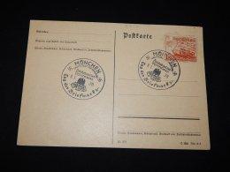 Germany 1938 Munchen Special Cancellation Card__(L-9737) - Deutschland