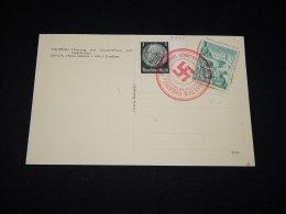 Germany 1938 Troppau Swastika Cancellation Postcard__(L-9745) - Deutschland