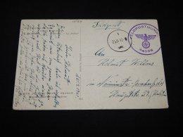 Germany 1940 Feldpostnummer 34095 Postcard__(L-10184) - Deutschland
