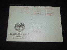 Germany 1941 Hamburg Meter Mark Cover__(L-9744) - Deutschland