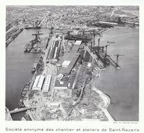 1952 - Iconographie - Saint-Nazaire (Loire-Atlantique) - Le Chantier Naval - FRANCO DE PORT - Vecchi Documenti