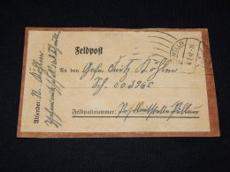 Germany 1942 Schmölln Part Of Feldpost Parcel__(L-10007) - Deutschland
