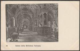 Salone Della Biblioteca, Vaticana, C.1905 - U/B Cartolina - Vatican
