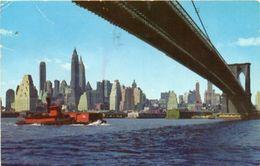 New York - LOWER MANHATTAN SKYLINE - Small Format - Formato Piccolo - Manhattan