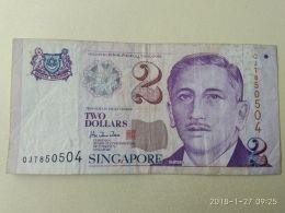 2 Dollars 2000 - Singapore