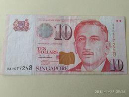 10 Dollars 1999 - Singapore