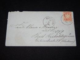 Germany Bayern 1876 Bayreuth Letter To Bad Reicholdsgrun__(L-9687) - Beieren
