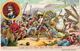 CONDE A FRIBOURG - Histoire